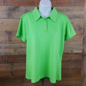 Emerald 78 Athletic Shirt Women's Size L Bright Gr